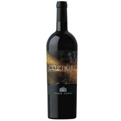 italian red wine-villa sandi-corpore IGT merlot 2015-red wine-robust wine-italian merlot