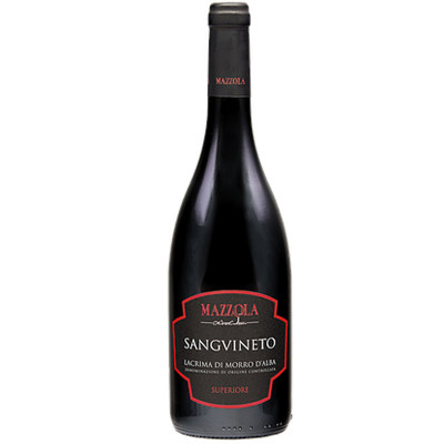 Mazzola-2016 wine-lacrima morro alba super sangvinet-red wine-spicy wine-2016