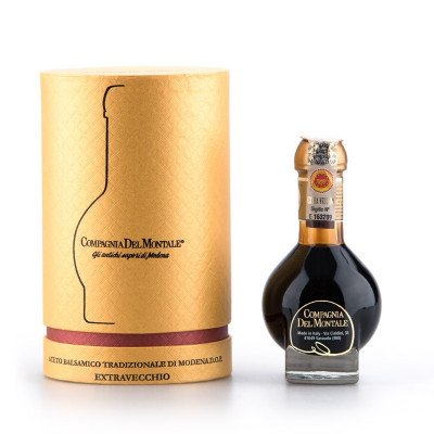 Extravecchio - Aged Balsamic Vinegar of Modena DOP (with box) (100ml)-balsamic vinegar-compagnia del montale-vinegar-aged