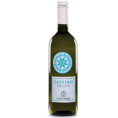 White wine-chiorri-Zeffiro 2019-bianco IGT-fresh wine-fruity wine-appetizer wine