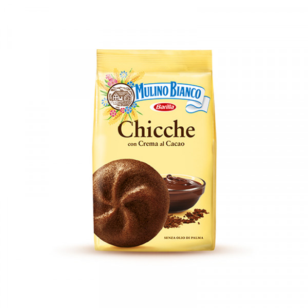 italian biscuit-mulino bianco-200g-cocoa chicche-chocolate biscuit-breakfast-pastry-cocoa-chicche