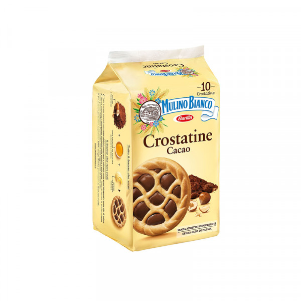 biscuit-pastries-mulino bianco-400g-biscuit with chocolate-crostatinenwith cocoa cream
