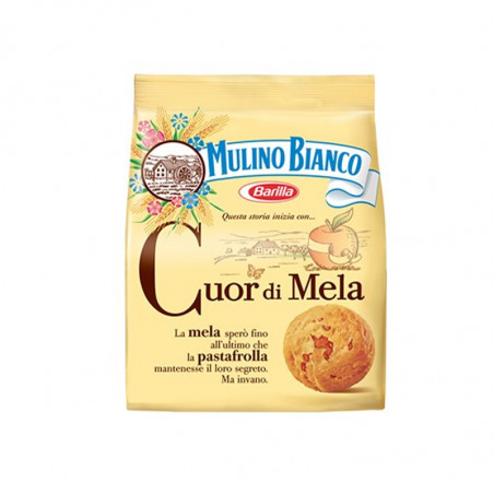 Apple-apple biscuits-mulino Bianco-250g-Cuor di mela-italian biscuits