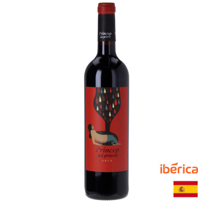 red wine-bodegas penafiel-princep del priorat-spanish wine-wine with red wine-wine for cheese
