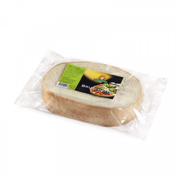 Sliced bread for bruschetta-400g-Gecchele-bread-bruschetta-sliced bread