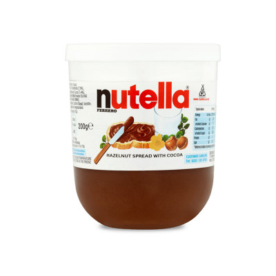 chocolate-spread-chocolate spread-nutella-200g-ferrero-nutella spread