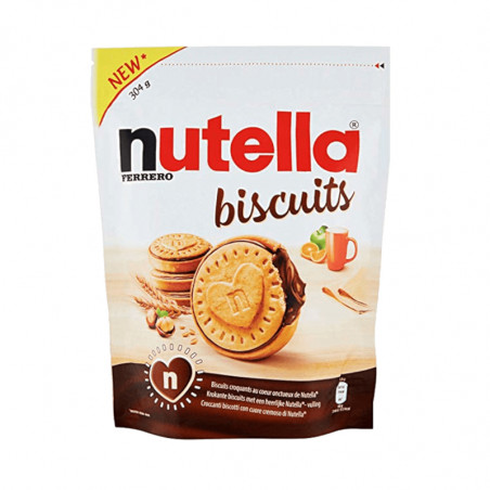 Nutella-nutella biscuits-304g-Ferrero-chocolate biscuit