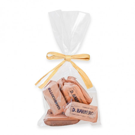 Giandujotto chocolates-barbero-chocolate pack-chocolate-piece of chocolate