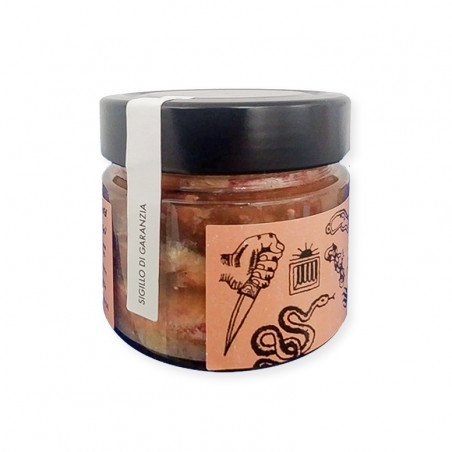 salted anchovies-salted anchovies from cetara-215g-armatore-anchovies