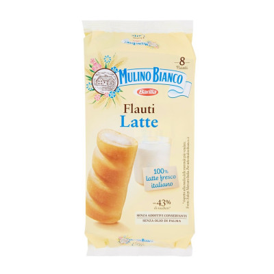milk biscuit-mulino bianco-280g-italian biscuit-flauti with milk cream-biscuit with milk-flauti al latte-pastries-