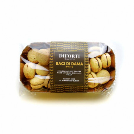 Di forti-150g-Baci di dama white biscuit-white biscuit-chocolate biscuits-biscuit-pastries