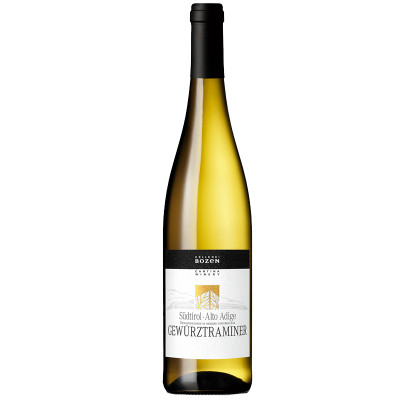 Gewürztraminer Alto Adige DOC 2019 - Bozen (750ml)-bozen-white wine-fruity wine-floral wine
