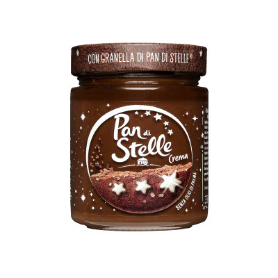 Crema-Pan di stelle-Cream-mulino bianco-hazelnut spread-330g-chocolate spread-chocolate cream