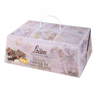 Chocolate Easter Colomba (1kg)