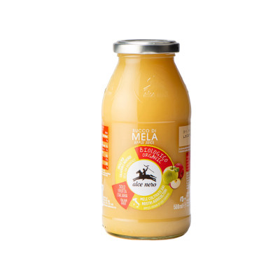 apple juice-500ml-alce nero-organic apple juice-organic juice-apple