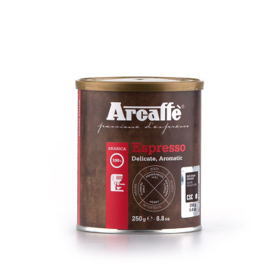 Espresso Ground Coffee 100% Arabica (250gr)