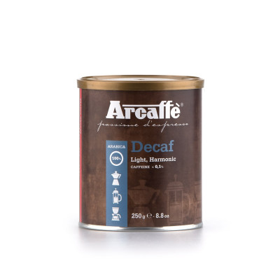 Decaffeinated Ground Coffee 100% Arabica (250g)