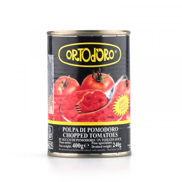 Chopped Tomatoes (400gr)
