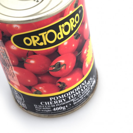 Cherry Tomatoes in Tomato Juice (400gr)